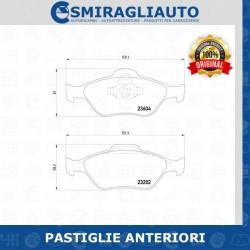 PASTIGLIE FRENO - PASTIGLIE FRENO ANTERIORI FORD FIESTA V 1.4 TDCi 50KW 68CV ANTERIORE MINTEX - 19,63€