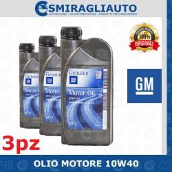 OLIO MOTORE AUTO OPEL 10W40...