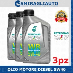OLIO MOTORE SELENIA WR 5W40...