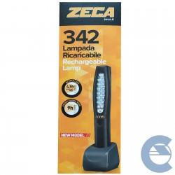 ATTREZZATURA - LAMPADA A LED RICARICABILE 19 ZECA IMPERMEABILE MECCANICO CARROZZIERE ELETTRAUTO - 41,60€