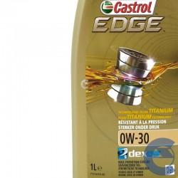 0W30 - Castrol Edge 0w-30 Dexos2 Titanium olio motore auto piccola cilindrata - 11,61€