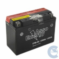 Asso Energy CT9B-BS 12V 8Ah...