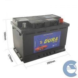 Dura Batterie L3 12V 82Ah...