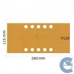 Mirka Gold P120 Plain 10F...