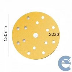 Mirka Gold P220 15F 150mm...