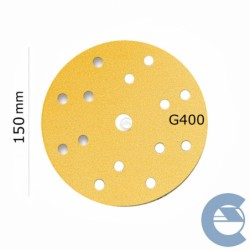 MIRKA DISCO GOLD D150 GR400...